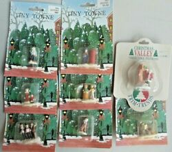 Lot Of 8 Tiny Town Figures For Train Layout. 1 Tall, S-o Scale