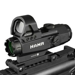 Adjustable Tactical Lens Red Dot 4x24 Hamr Scope Lens High Accuracy Hunting 2021
