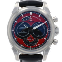 Omega De Ville Co-axial Chronoscope Menand039s Watch 4851.61.31 Stainless Steel