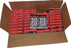 Case 140+ Black Decks World Series Of Poker Used Copag Plastic Playing Cards
