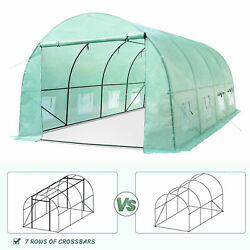 Greenhouse 20x10x7ft Large Heavy Duty Walk-in Hot Green House Plant Gardening