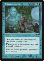 Intruder Alarm Stronghold LP MTG Single Magic the Gathering