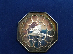 1973 Ron Hyer Lombardo Mint 200 Years Of Liberty Rhy-1v Silver Art Medal P2390