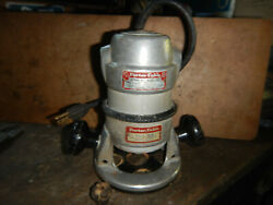 Vintage Porter Cable Router 511 With Base 1/4 Collet