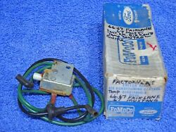 1966-1967 Fairlane 1967 Mustang Factory Ac Temp Control Switch Nos
