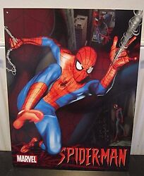 The Amazing Spiderman /marvel-antique-style Metal Wall Sign 12.5x 16 Superhero