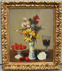 Henri Fantin-latour After By Studio Of Miguel Canals Spain 1925-1995 Great