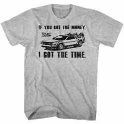 Back To The Future Movie You Got The Money I Got The Time Men's T Shirt