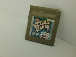 Vegas Stakes Gameboy Original Game Cartridge Cleaned And Tested K25