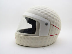 Schuberth Speed 85 Vintage Motorcycle Helmet The Golf Ball Classic From 80and039s