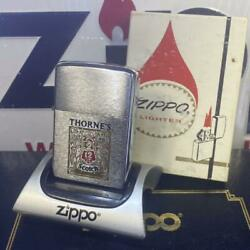 Zippo Thorneandrsquos Scotch Whiskey Made In 1972 Imported From Japan W/box