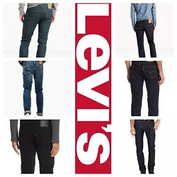 511 Slim Fit Stretch Jeans Many Colors 29 30 31 32 33 34 36 38 40 42