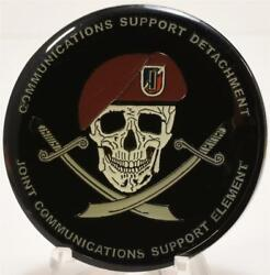 Joint Communications Support Element Warrant Officer Seabees Challenge Coin