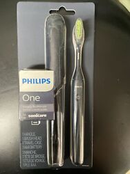 New Philips Sonicare One Battery Toothbrush Hy1100/04 Navy
