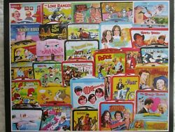 White Mountain Vintage Tv Lunch Boxes 1970 Tv Shows, Jigsaw Puzzle,1000, 2019