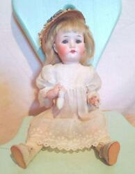 Antique Doll Bisque Doll William Goebel Antique Vintage Made In Germany From Jpn