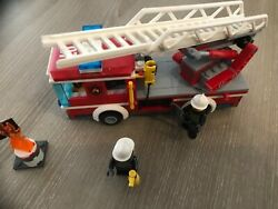 Lego 60107 Fire Ladder Truck Complet