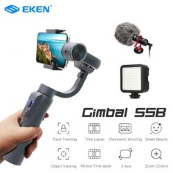 Handheld Gimbal Stabilizer Upgraded Version 3-axis Focus Pull Zoom For Iphone Xs