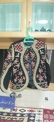 Hirbawi Kufiya And Embroider From Palestine Scarf Shmagh For Women Brand New Fine