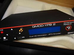 Contemporary Research Qmod-ypb 2 Dual Component And Composite Hdtv Modulator New
