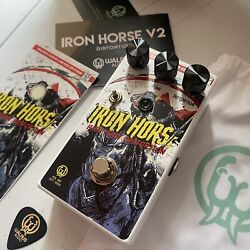 Unopened Walrus Audio Iron Horse Distortion Pedal Limited Halloween 2020 Graphic