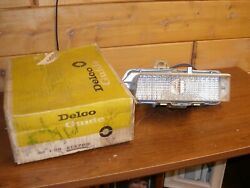1969 Gm Nos Buick Front Parking Light Housing And Lens Wildcat Electra 225 Lesab
