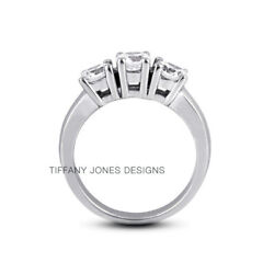 3/4ct F Si1 Round Natural Certified Diamonds 18k Gold Classic Engagement Ring