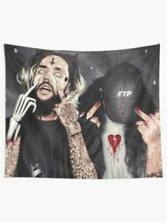 Suicideboys da Cherry Cartoon Photo Wall Tapestries Suicideboys Tapestry