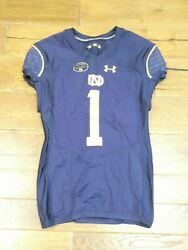 Rare 2017 Game Used-issued Notre Dame Knute Rockne Football Jersey 1 Game Only