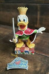 Disney Traditions Jim Shore Donald Duck As The Mouse King 4016561 W/ Tag