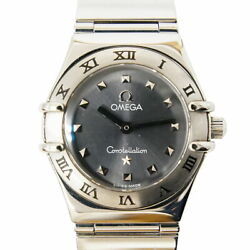 Authentic Omega Constellation 1561.51 Womenand039s Watch Gray Quartz K508085904