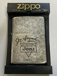 Zippo Oil Lighter Lighter Jeep Jeep 1932 Vintage Dated 1991 Box