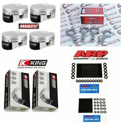 Manley 84.75 Mm 9.5 Cr Piston Rod Bearing Stud Kit For Mazdaspeed 3 6 And Cx7