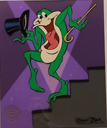Looney Tunes Michigan J. Frog Limited Edition Cel Signed By Chuck Jones 663/750