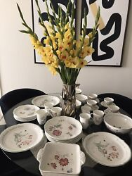 Lenox Butterfly Meadow Set Dinnerware Plates Cups Trays Bowl Mugs 35 Pieces