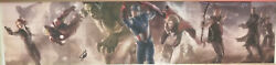 Marvel Fine Art Legends Le Giclee On Canvas-avengers- Signed By Stan Lee