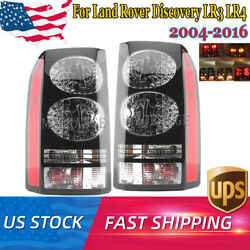 Pair Tail Light Rear Lamp Brake For Land Rover Discovery Lr3 Lr4 2004 2005-2016