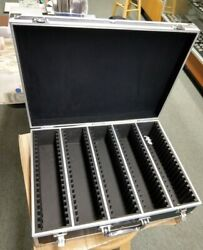 Heavy Duty 100 Slab Case Briefcase Secure Box Guardhouse New Unused Pcgs Ngc Ana