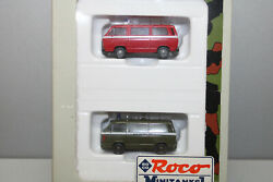Roco Mini Tank 814 2 Piece Vw T2 Military Police Us Army Gauge H0 Boxed