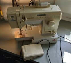 Singer Sewing Machine Electronic Imperial Anniversary Edition 7050 Rare Vtg
