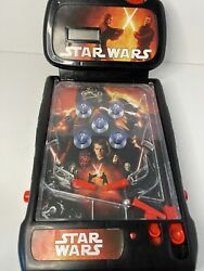 Star Wars Revenge Of The Sith Tabletop Pinball Machine Lights Sound Effects 2009