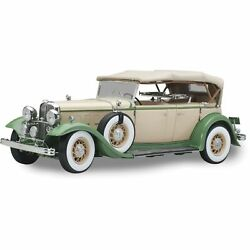 1932 Ford Lincoln Kb Top Up - Light Tan / Light Green