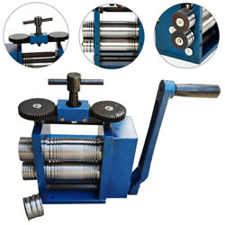 Commercial Manual Jewelry Rolling Mill Jewelry Machine Roll Presser 3 75mm