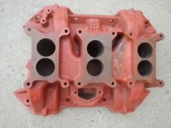 Mopar 413 440 Six Pack Intake Cast Iron Date 6-17-69 Used 2946275