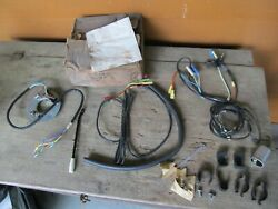 Nos Oem Ford 57-60 Truck Turn Signal Switch Kit W/ Wiring Harnesses Lever Etc.