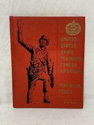 Vietnam 1968 Us Army Training Center Air Defense Fort Bliss Tx Co. C Book 5c
