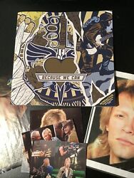 Bon Jovi 2013 Because We Can Tour T-shirts , Program And Pictures All Included