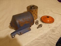 Nos Ac Gm 1950s Cadillac Oil Filter Canister S-6 P115 Similar To 1957 Appunknown