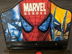 Marvel Heroes 2006 Table Top Electronic Pinball Game Machine Spiderman