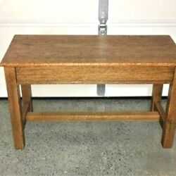 Antique Wooden Piano Bench 36x15x21